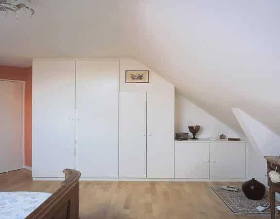armoire en sous-pente combles