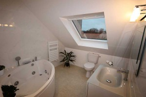 Salle de bain en comble