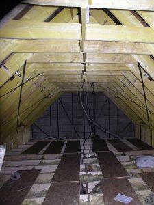 renforcement de la charpente d'une maison phénix à plouider