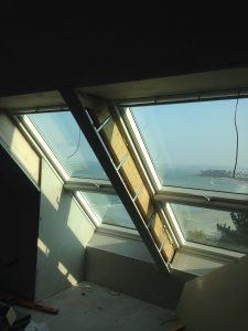 construction de fenêtres avec une vue mer de la côte nord