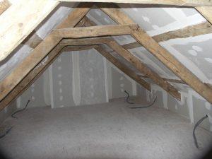 suite de l'aménagement des combles dans une maison de guipavas