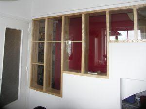 cloison vitrée décorative