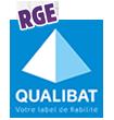 travaux certifiés de qualité avec label qualibat RGE