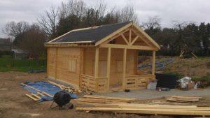 réalisation d'une cabane de jardin pour le rangement